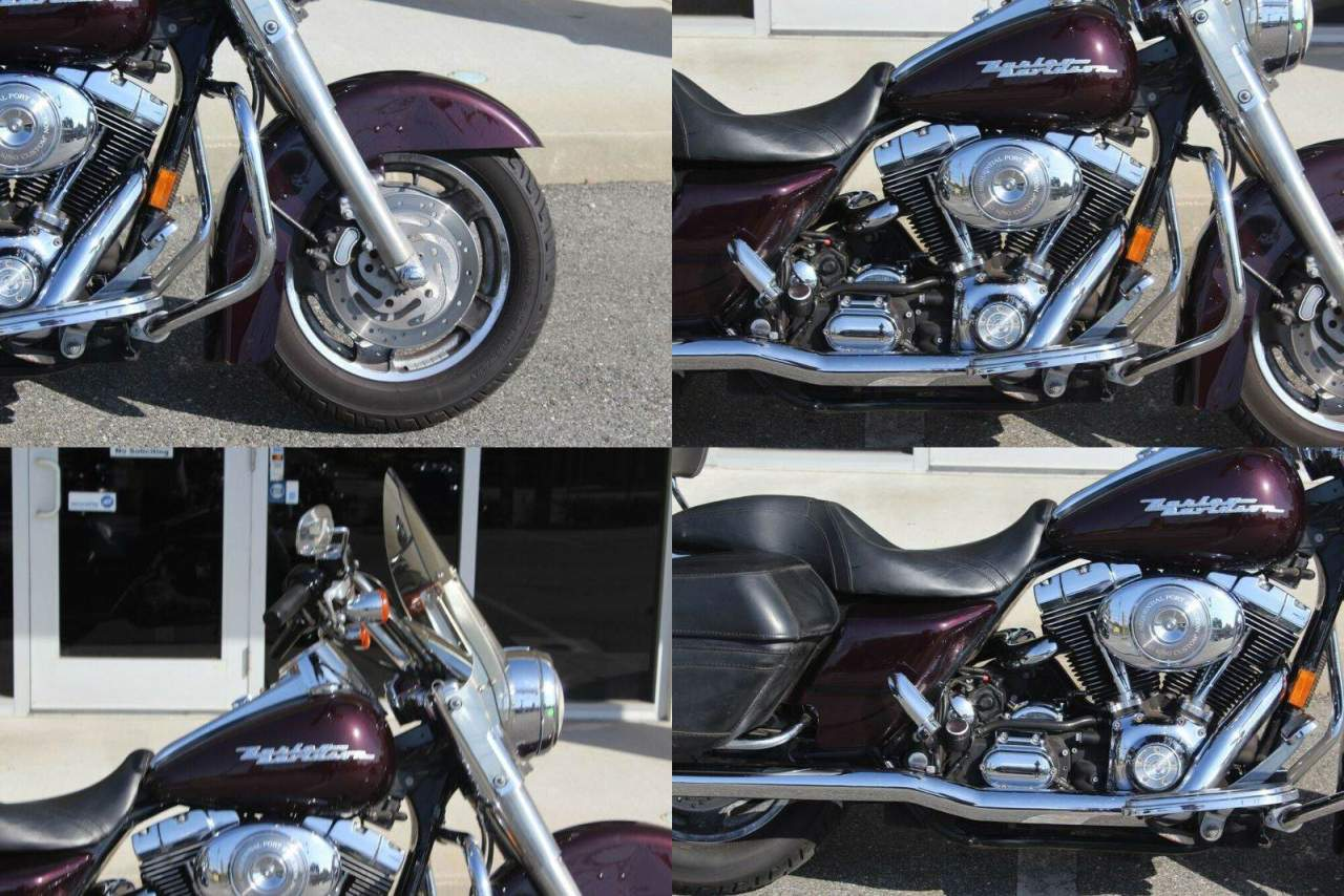 2006 Harley-Davidson Touring Road King® Custom Black Cherry used for sale