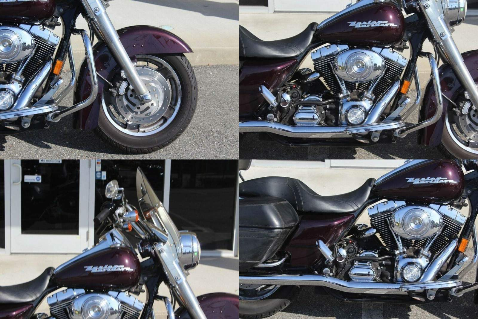 2006 Harley-Davidson Touring Road King® Custom Black Cherry used for sale craigslist