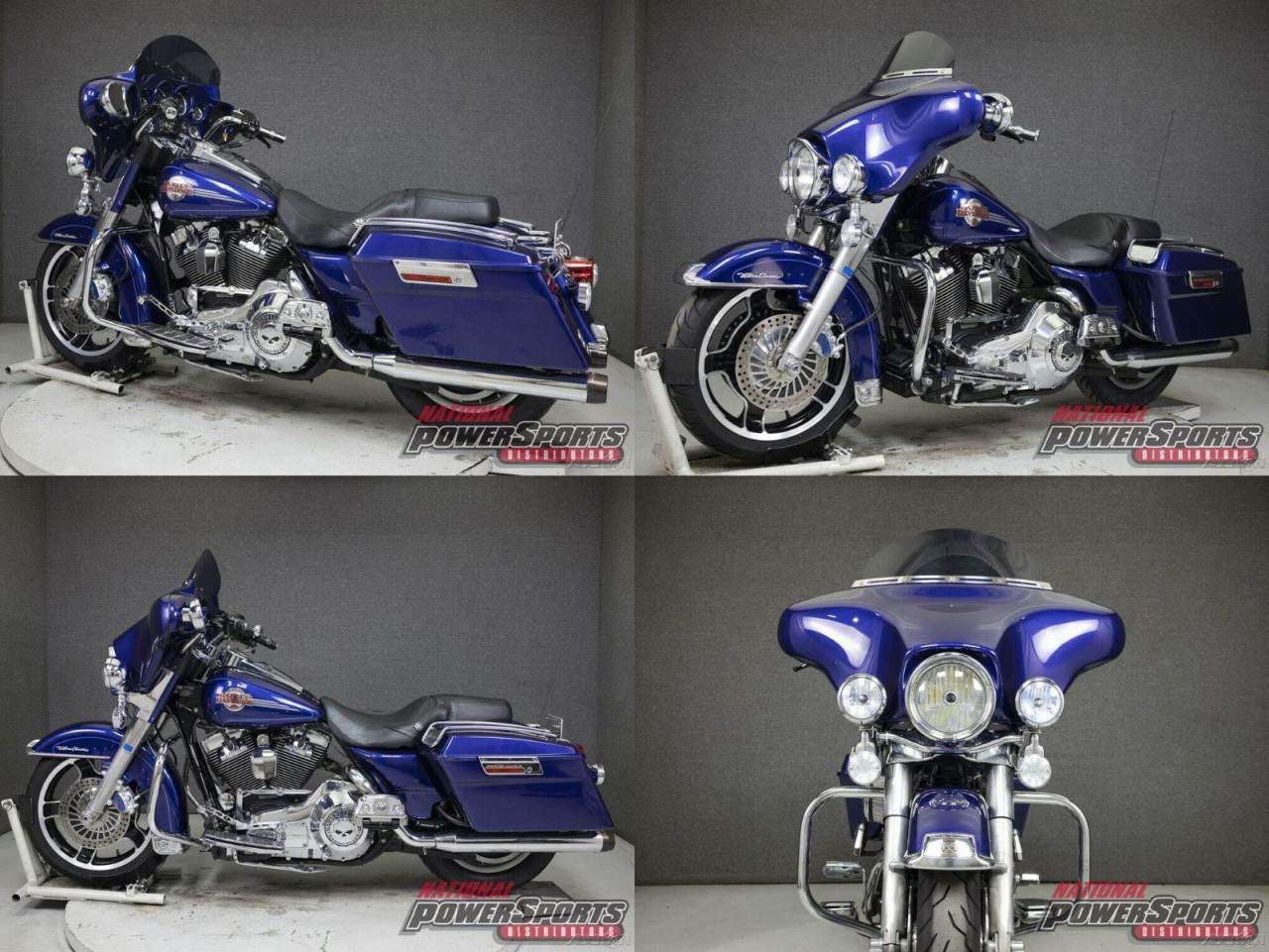 2006 Harley-Davidson Touring DEEP COBALT PEARL used for sale