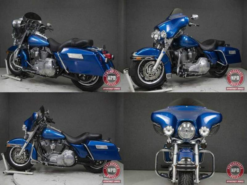 2006 Harley-Davidson Touring RICH SUNGLO BLUE used for sale craigslist