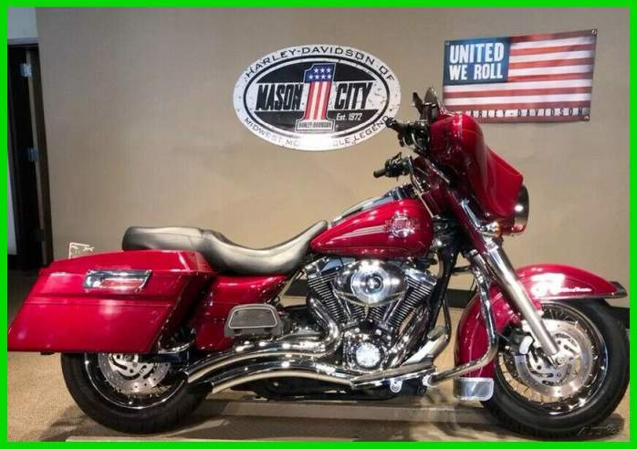 2006 Harley-Davidson Touring Electra Glide® Ultra Classic® Brandy Wine Red used for sale near me