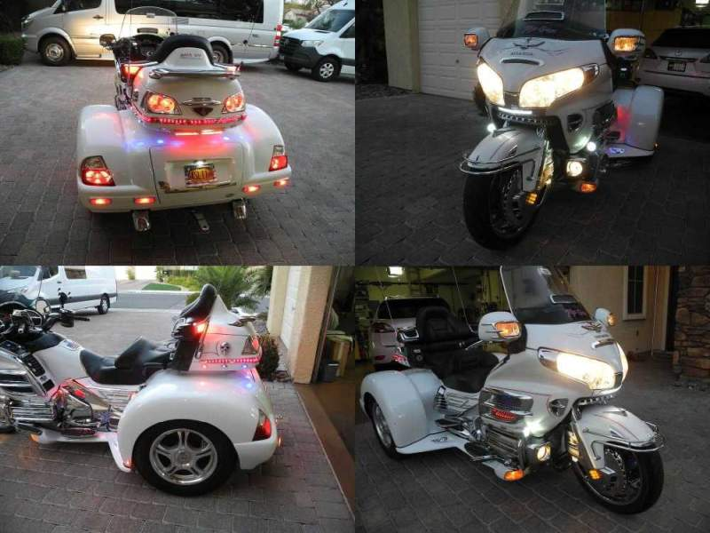 2006 Honda Gold Wing White used for sale craigslist