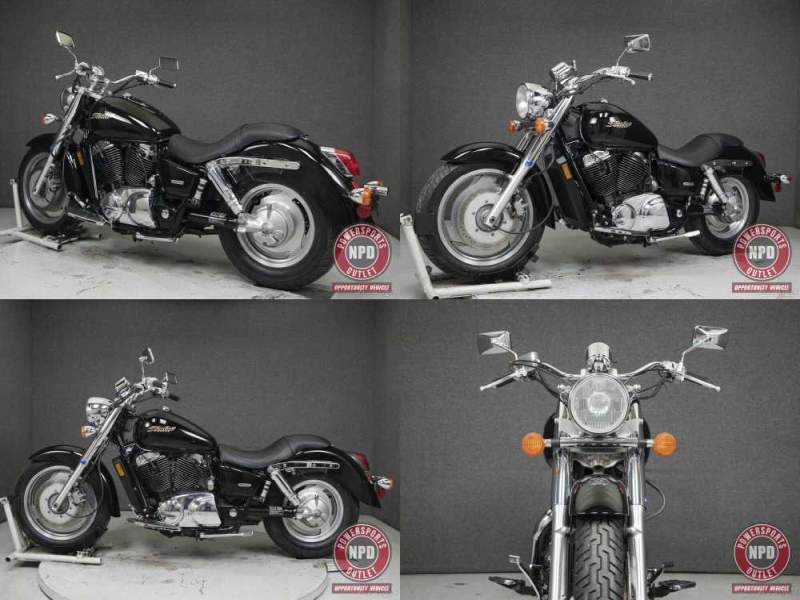 2006 Honda Shadow VT1100 1100 SABRE Black used for sale