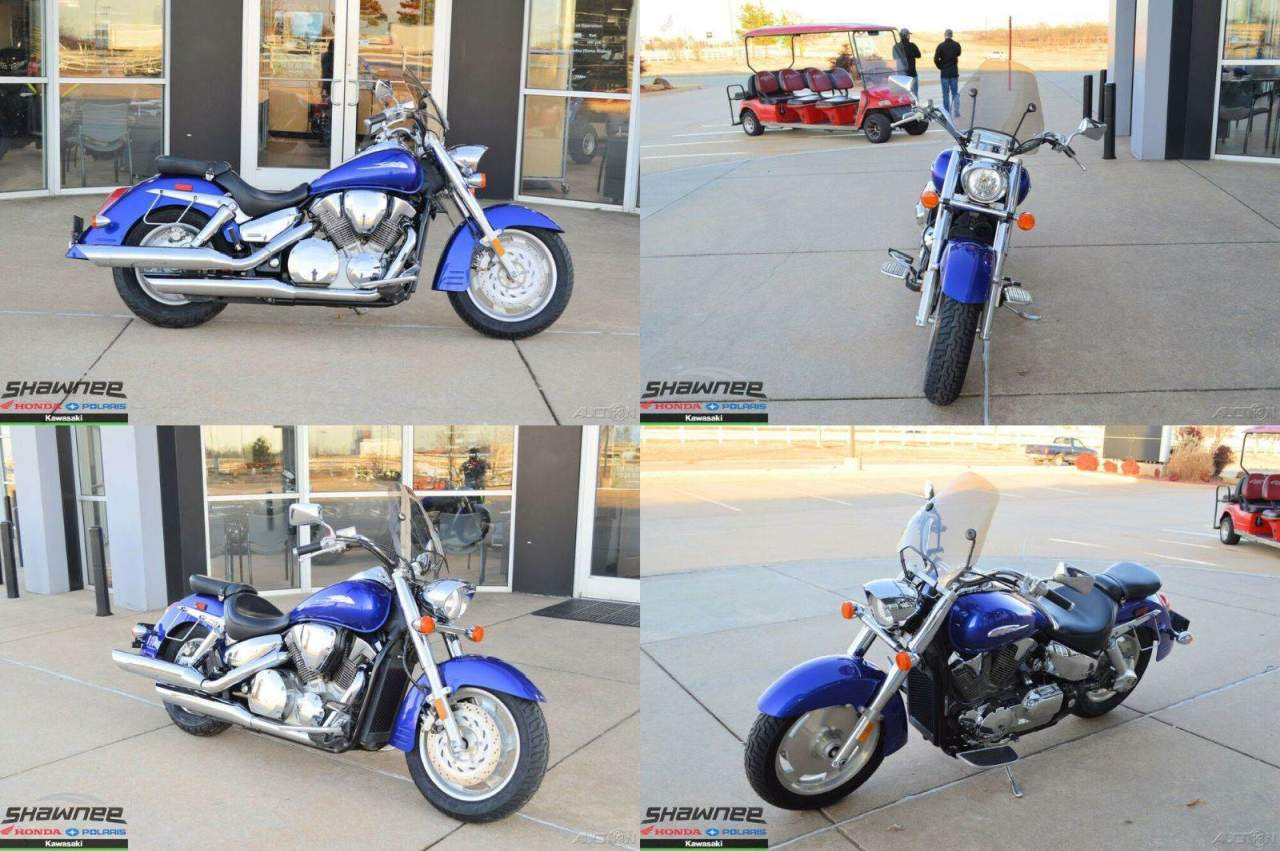 2006 Honda VTX R Blue used for sale