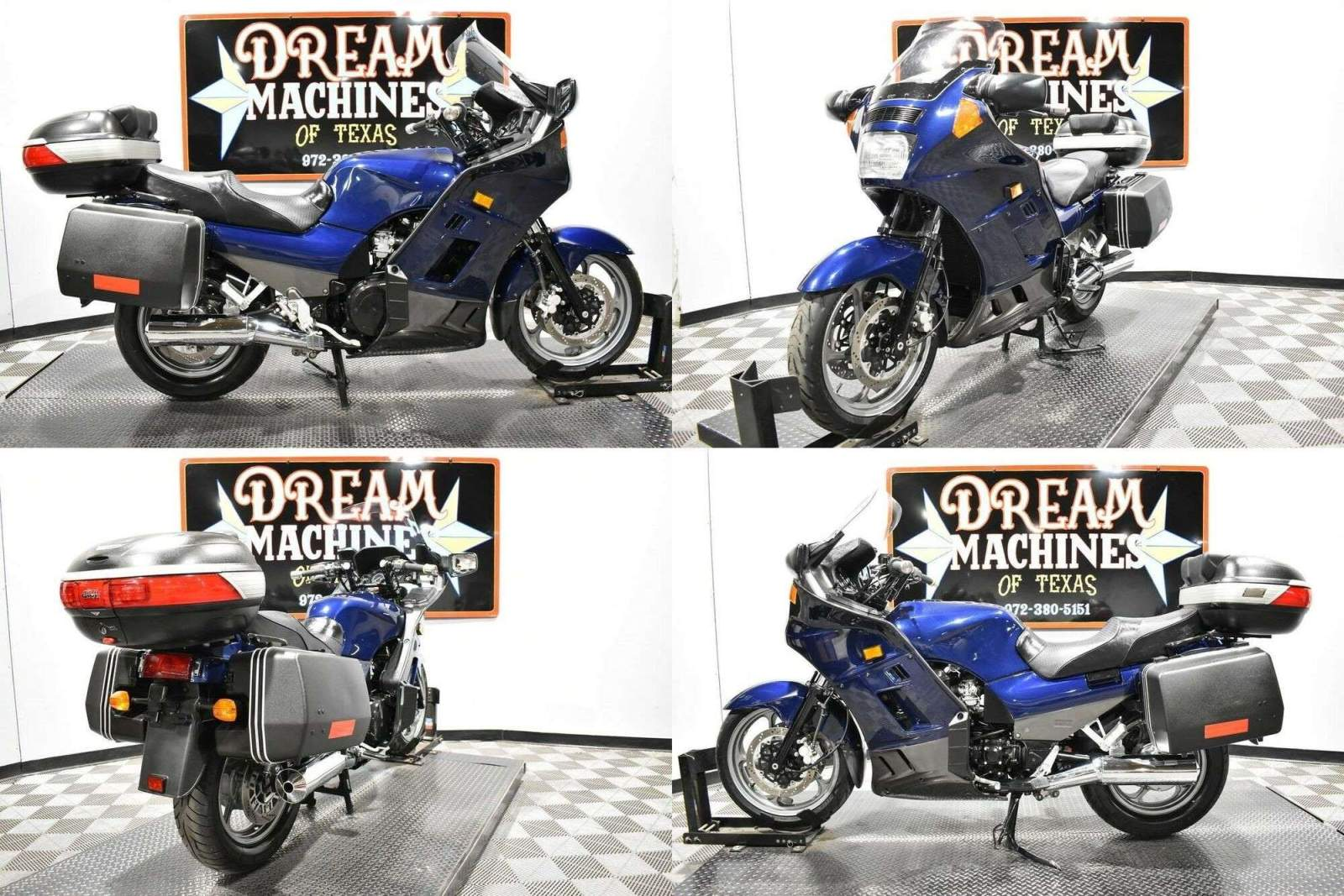 2006 Kawasaki Concours Blue used for sale