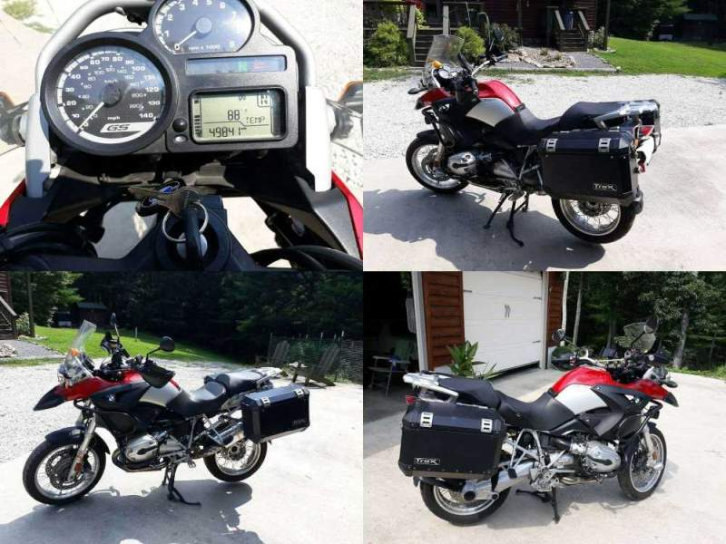 2007 BMW R-Series RED/SILVER used for sale