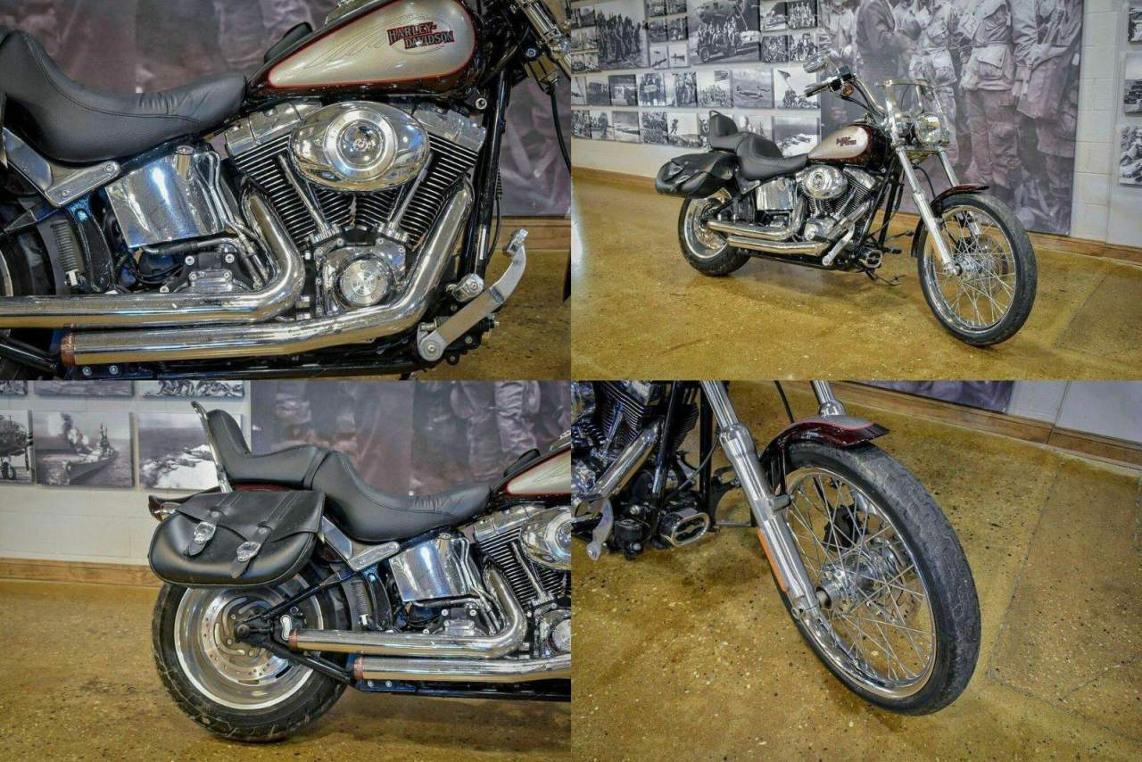 2007 Harley-Davidson FXSTC - Softail® Custom Red used for sale