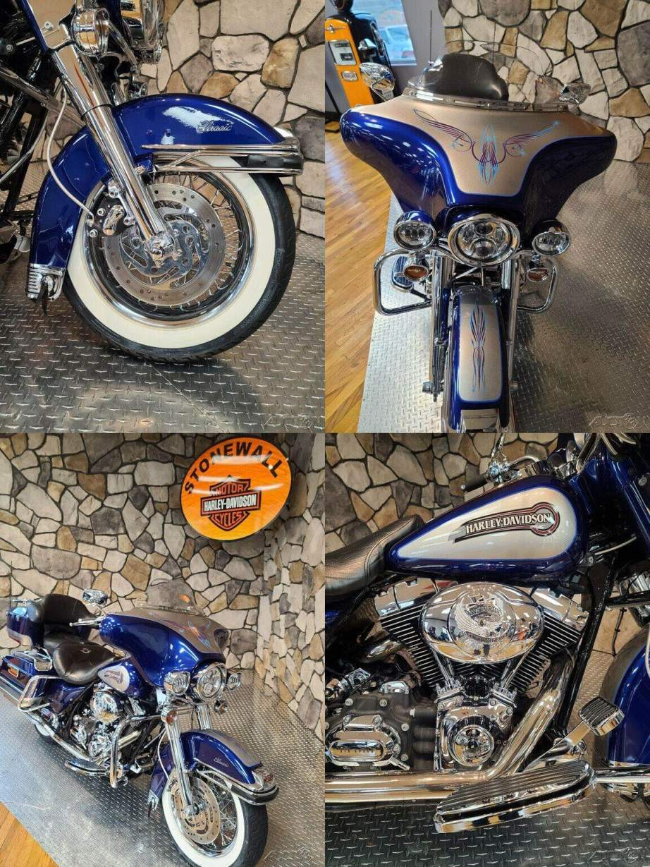 2007 Harley-Davidson Touring Ultra Classic Electra Glide Cobalt Pearl/Pewter used for sale craigslist