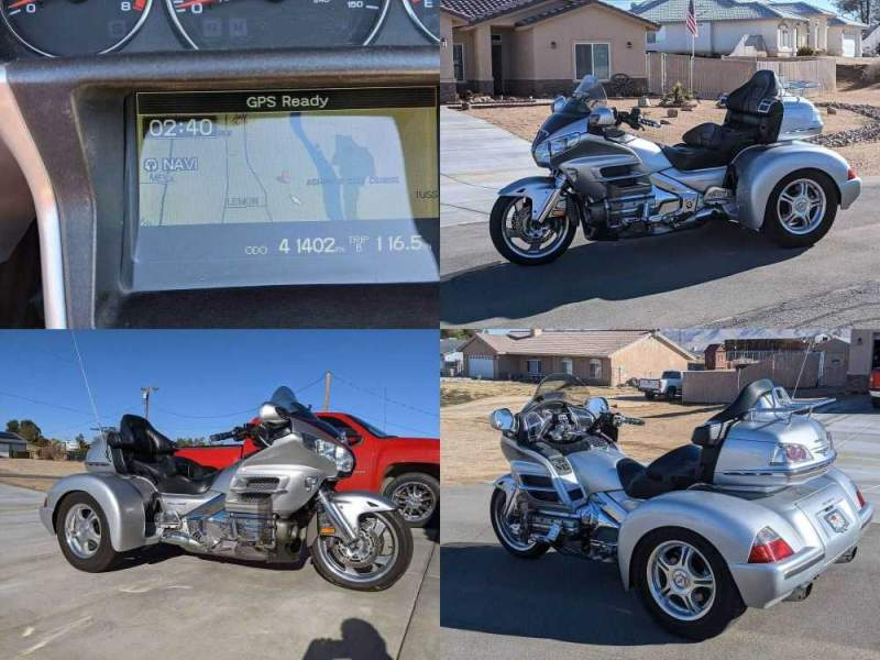 2007 Honda Gold Wing Silver used for sale near me