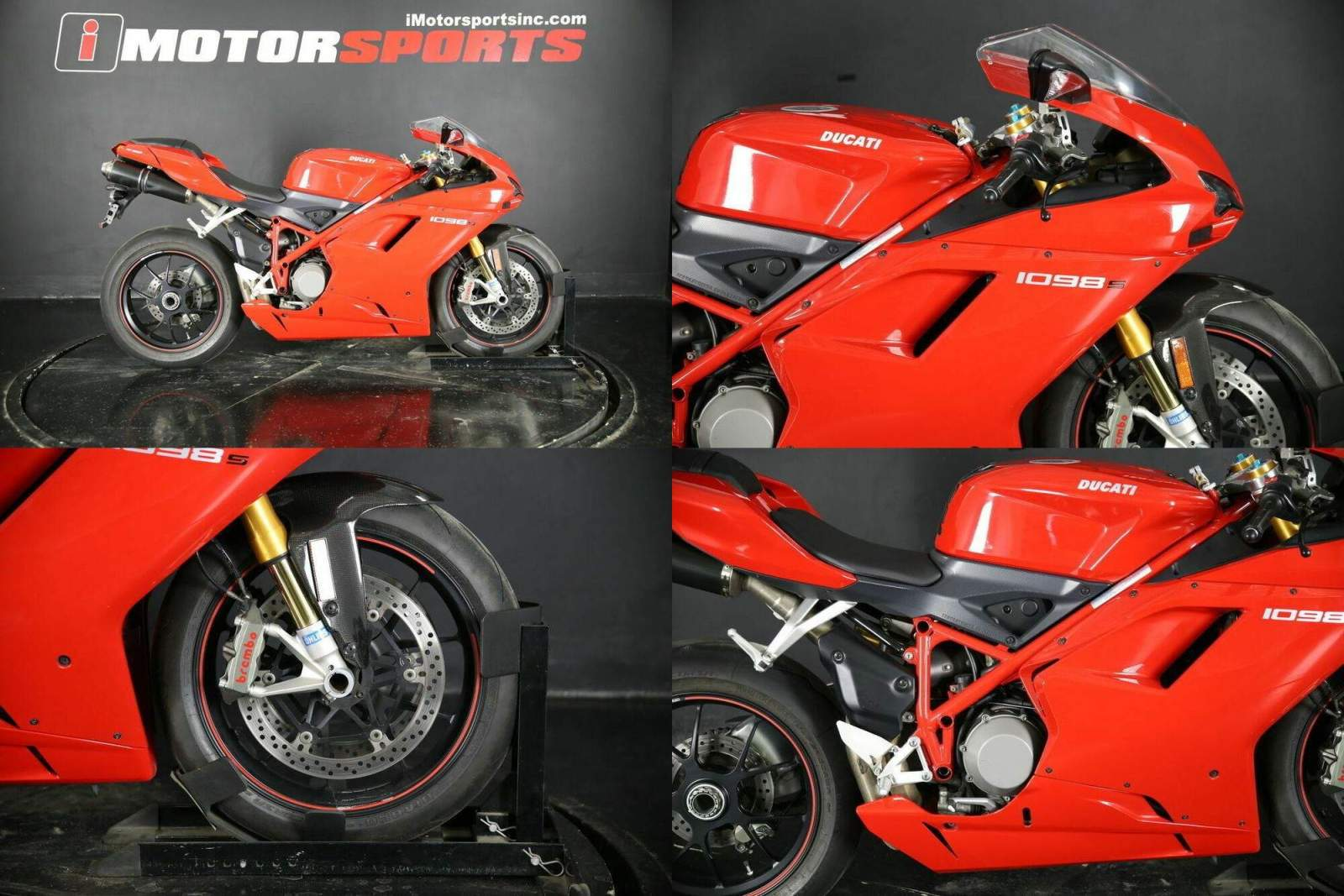 2008 Ducati 1098 S -- used for sale