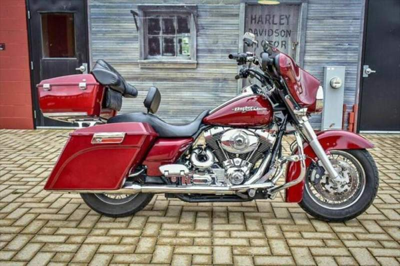2008 Harley-Davidson FLHX - Street Glide® Red used for sale