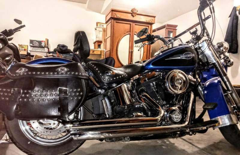2008 Harley-Davidson Softail Pacific blue / ultra black used for sale craigslist