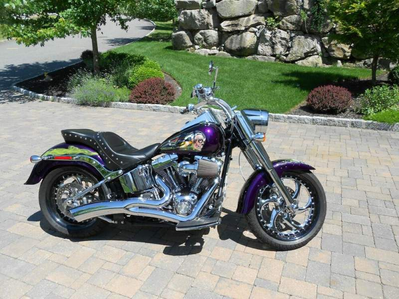 2008 Harley-Davidson Street Purple used for sale