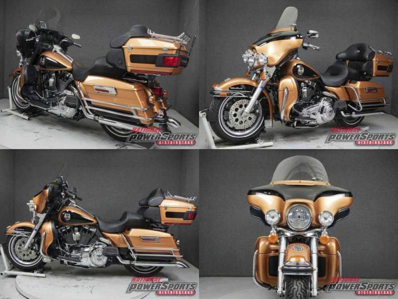 2008 Harley-Davidson Touring ANNIVERSARY COPPER PEARL/VIVID BLACK used for sale craigslist