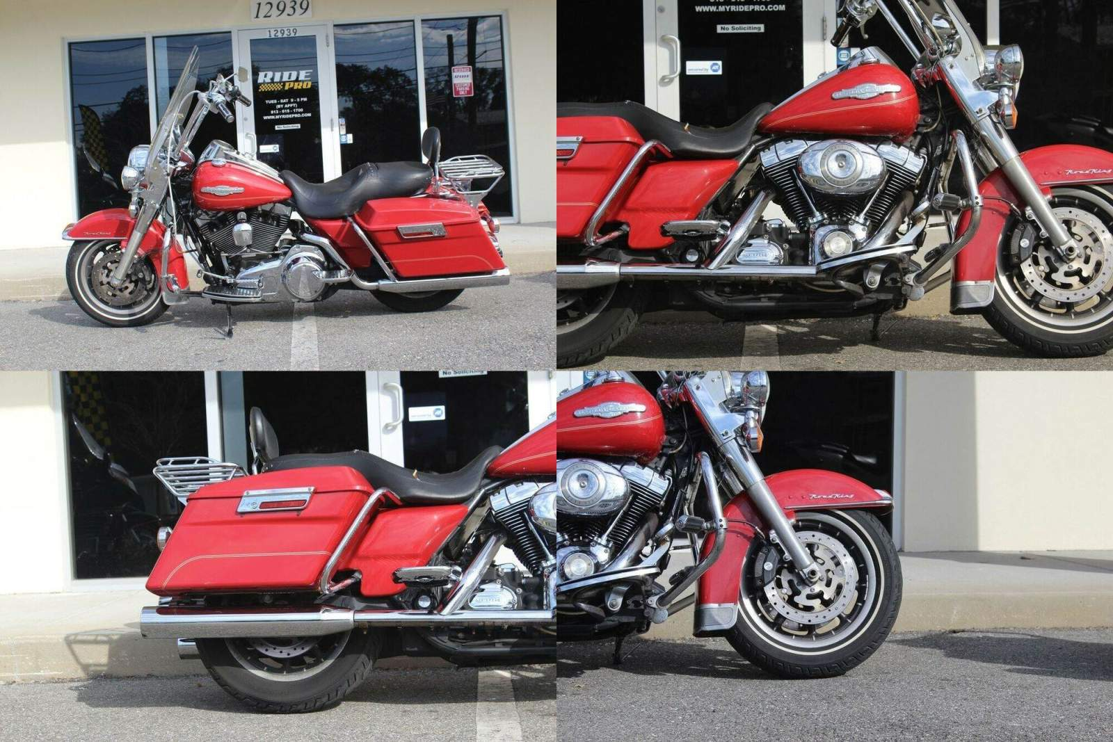 2008 Harley-Davidson Touring Road King® Red used for sale craigslist