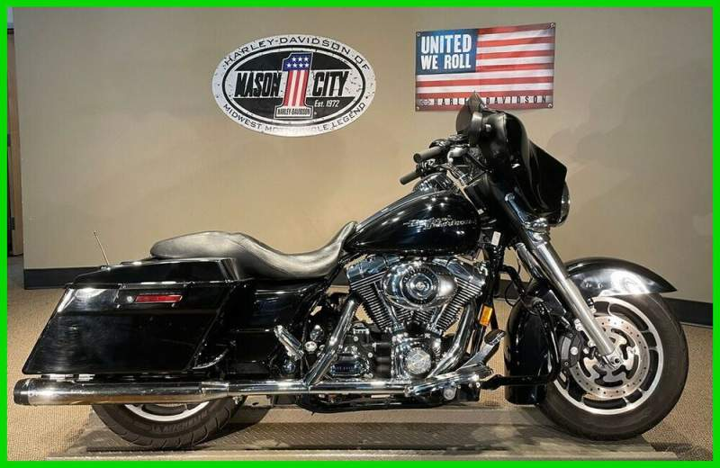 2008 Harley-Davidson Touring Street Glide™ Vivid Black used for sale