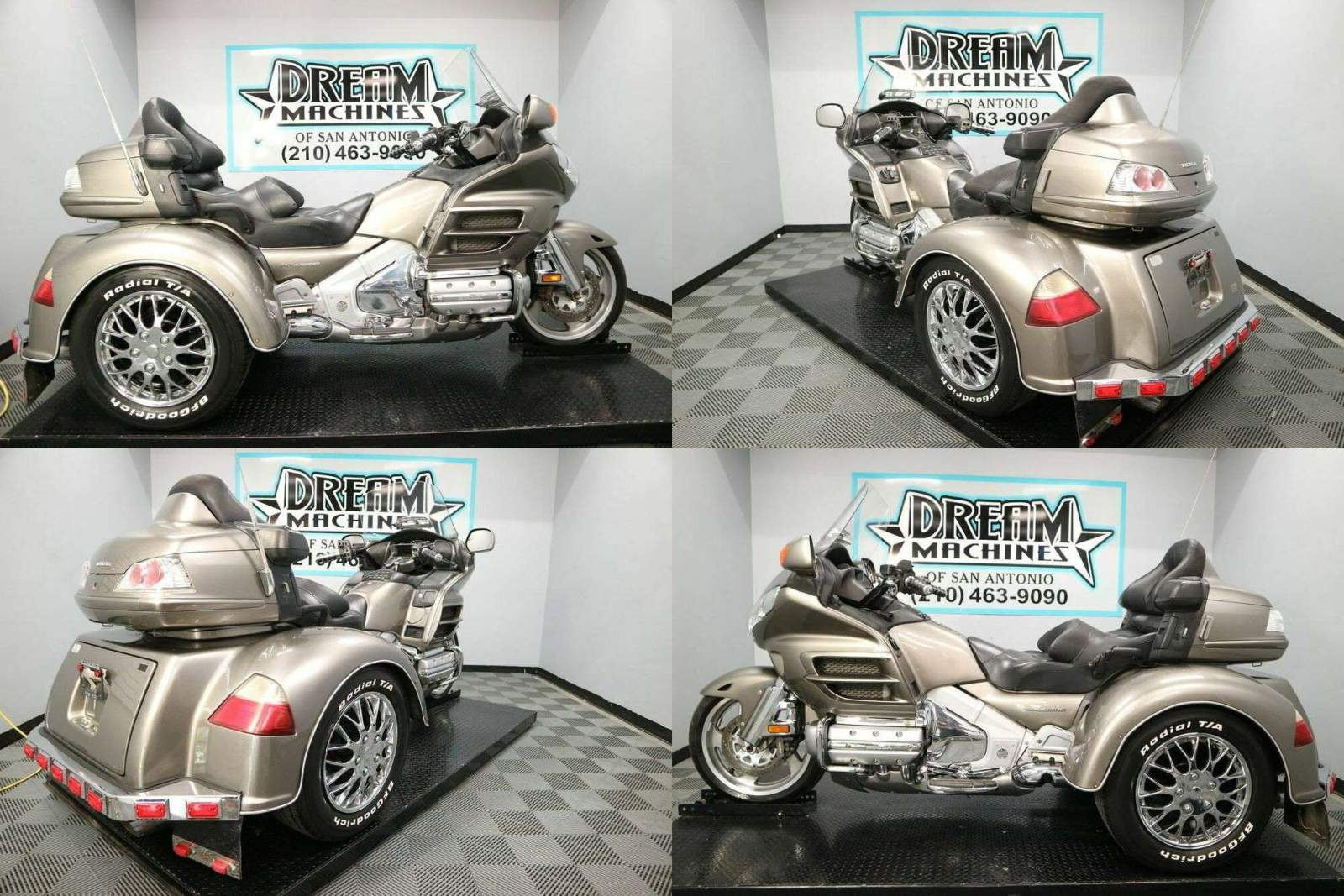 2008 Honda Gold Wing GL1800 Trike Tan used for sale