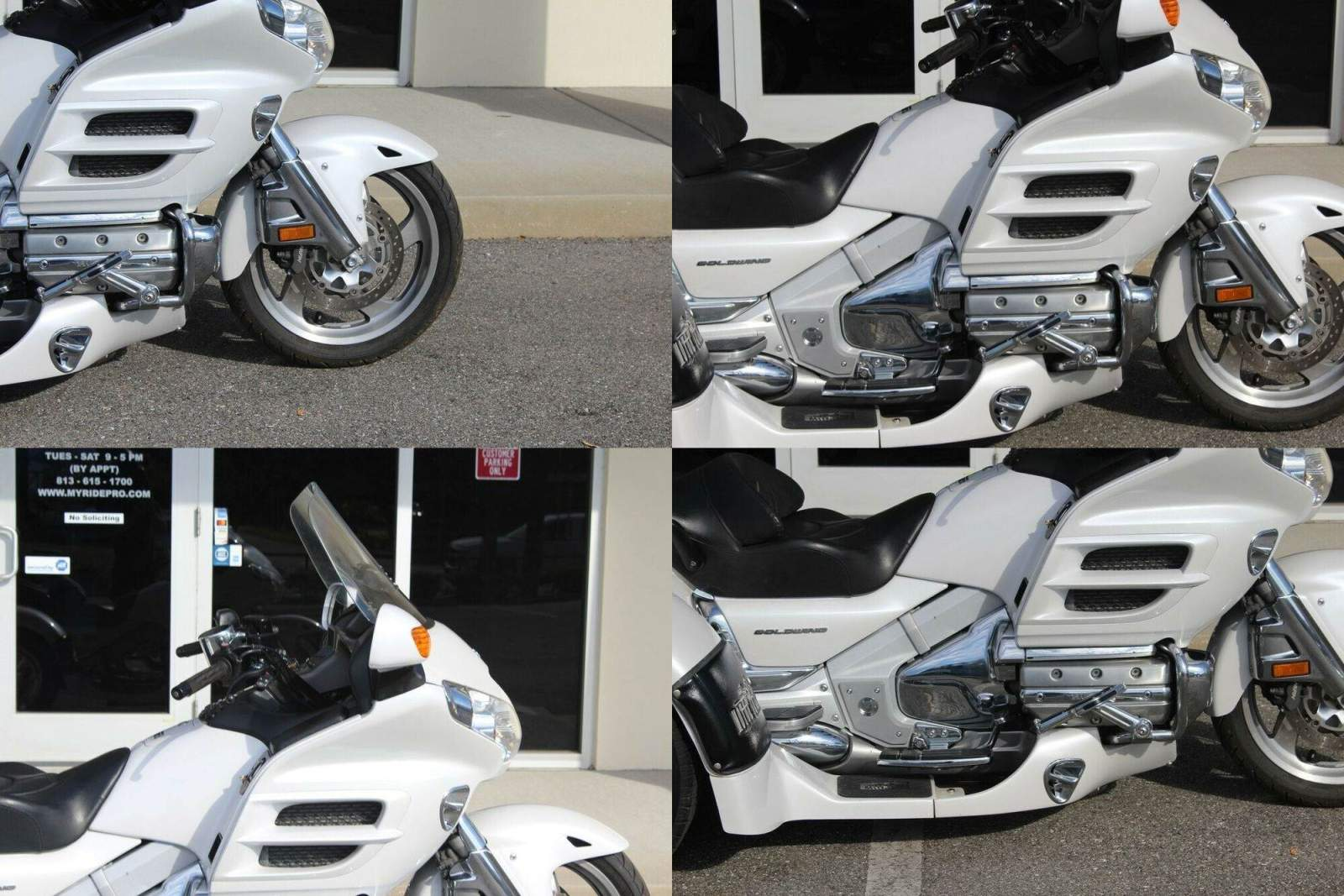 2008 Honda Gold Wing Premium Audio Pearl White used for sale