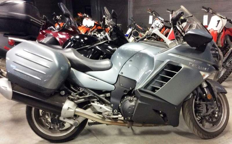 2008 Kawasaki Concours™ 14 ABS Silver used for sale craigslist