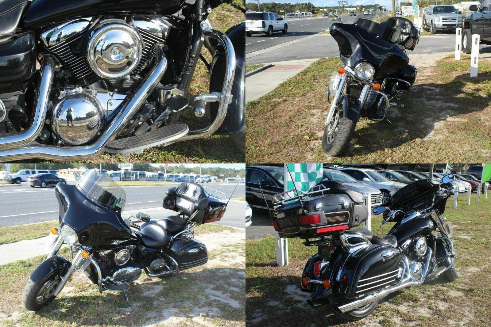 2008 Kawasaki Vulcan Black used for sale craigslist