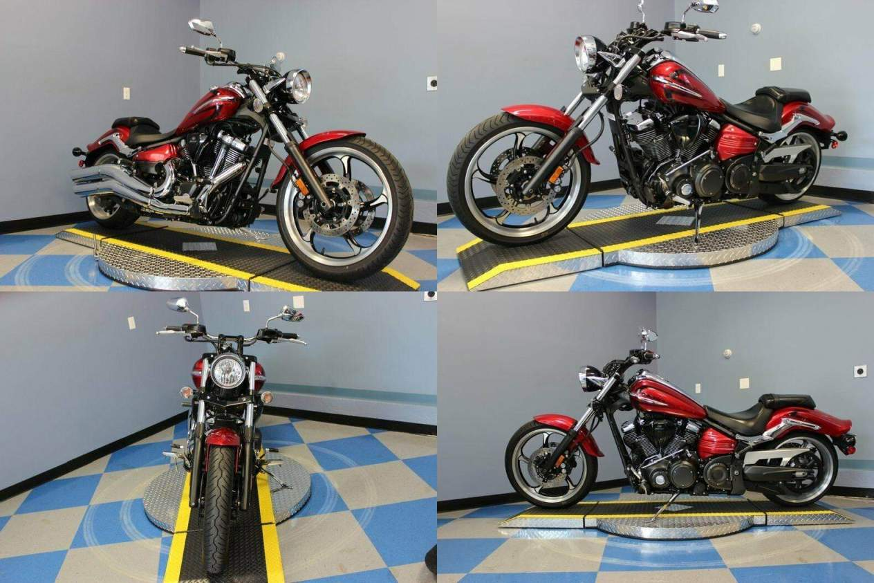2008 Yamaha Raider Red used for sale near me