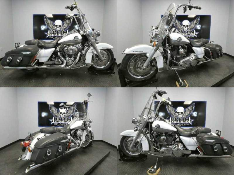 2009 Harley-Davidson FLHRC - Road King Classic White used for sale