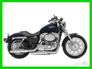 2009 Harley-Davidson Sportster 883 Low Dark Blue Pearl used for sale