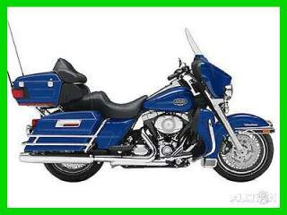 2009 Harley-Davidson Touring Ultra Classic Electra Glide Flame Blue Pearl used for sale