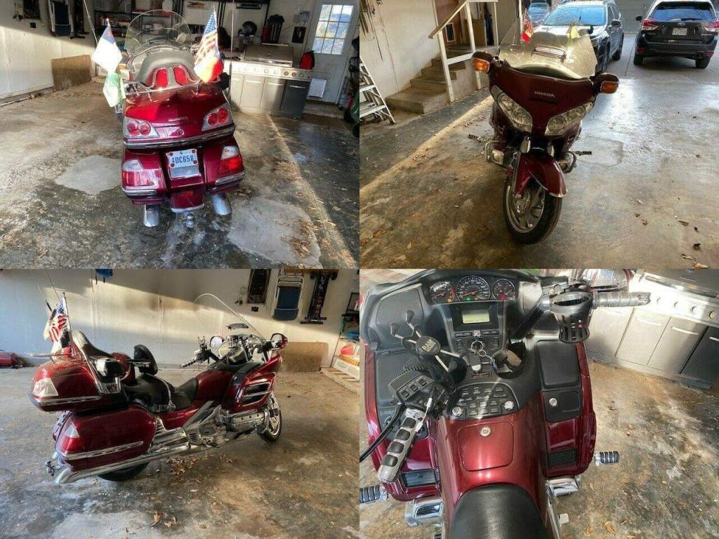 2009 Honda GL1800 Red used for sale craigslist