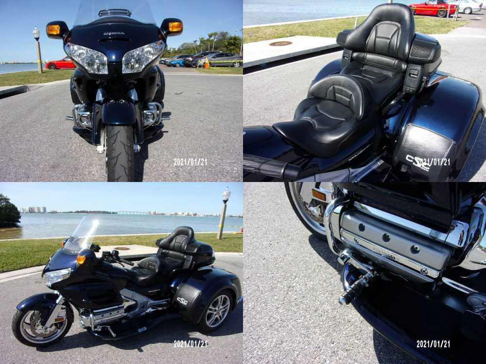 2009 Honda Gold Wing Monterey Blue Metallic used for sale near me