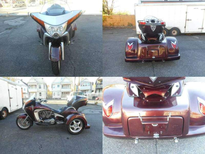 2009 Victory VICTORY VISION TRIKE Burgundy used for sale