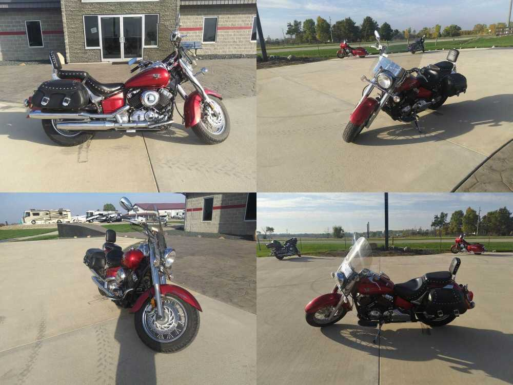 2009 Yamaha V Star 650 Silverado Red used for sale near me