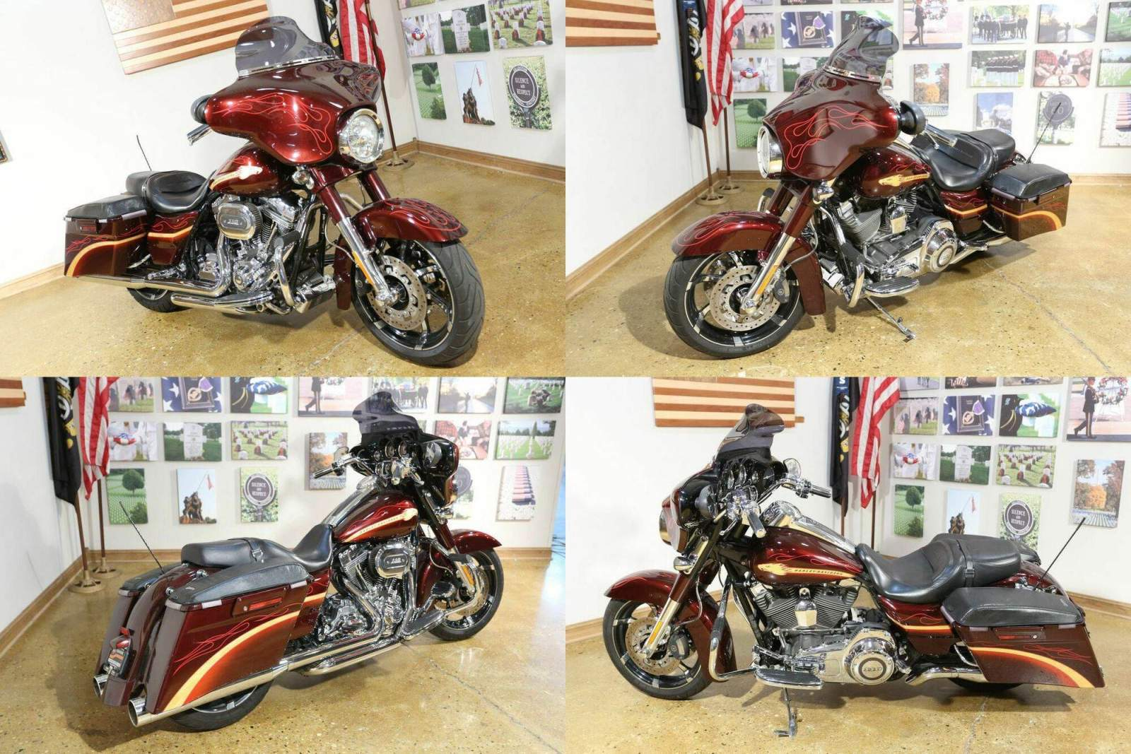 2010 Harley-Davidson FLHXSE - CVO™ Street Glide® SPICED RUM used for sale