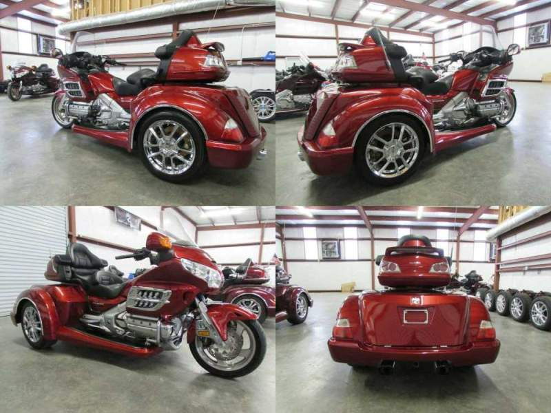 2010 Honda Gold Wing RED used for sale