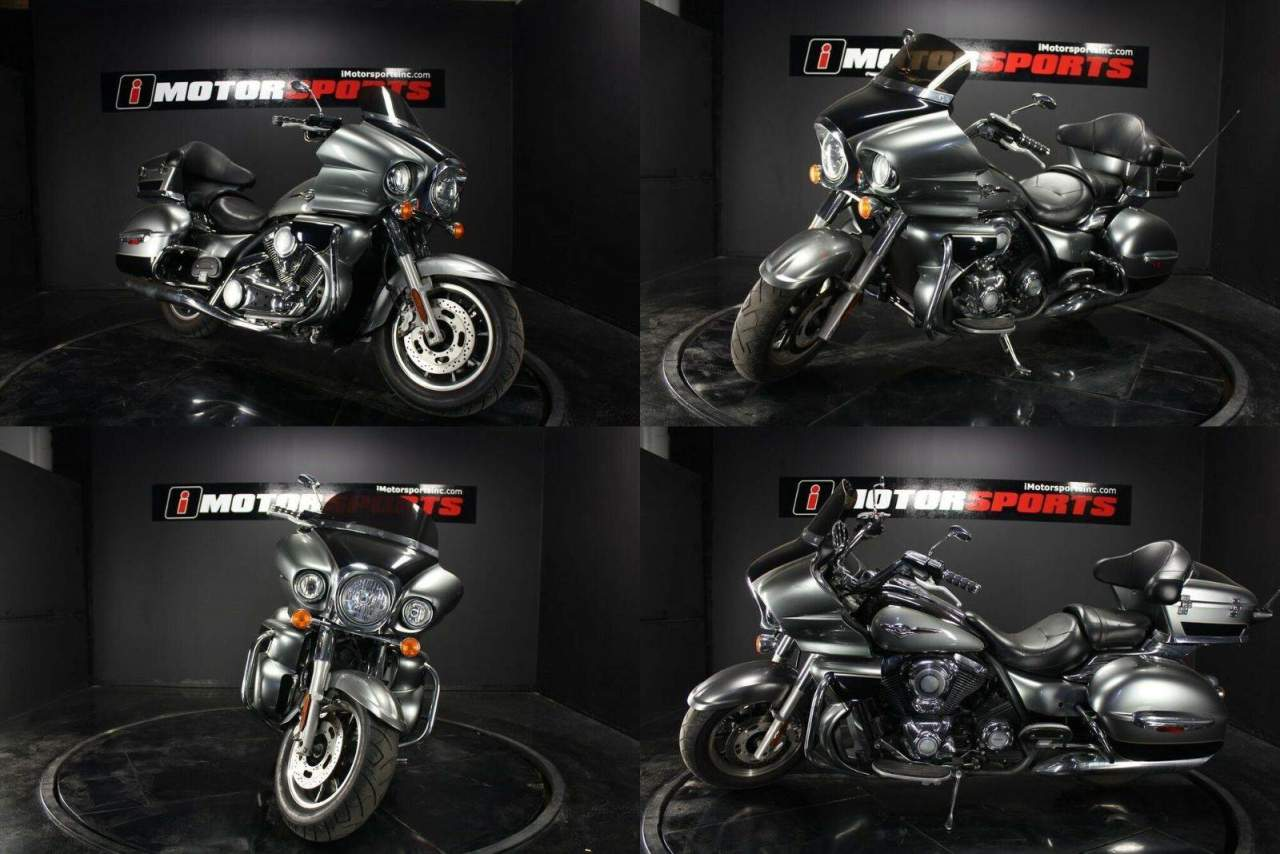 2010 Kawasaki Vulcan 1700 Voyager GRY used for sale