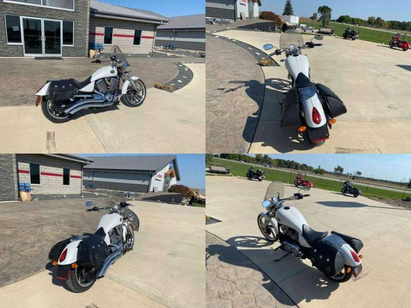 2010 Victory VEGAS LOW White used for sale near me