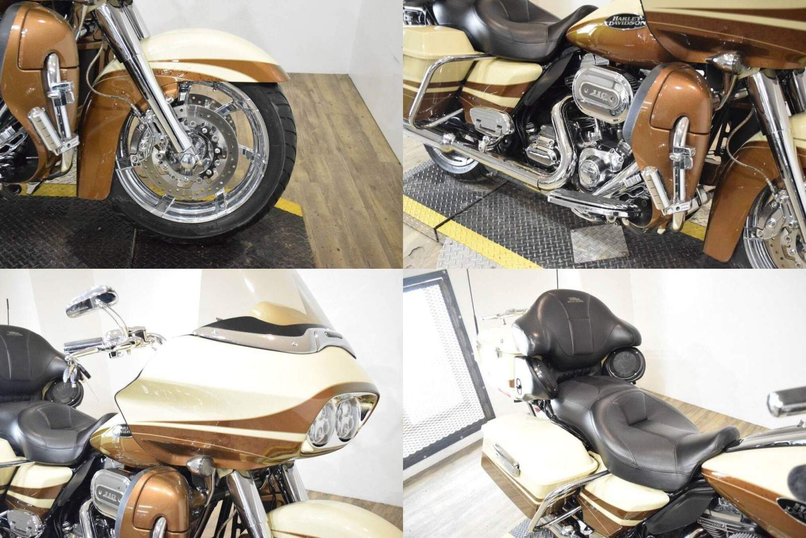 2011 Harley-Davidson CVO™ Road Glide® Ultra Gold used for sale craigslist