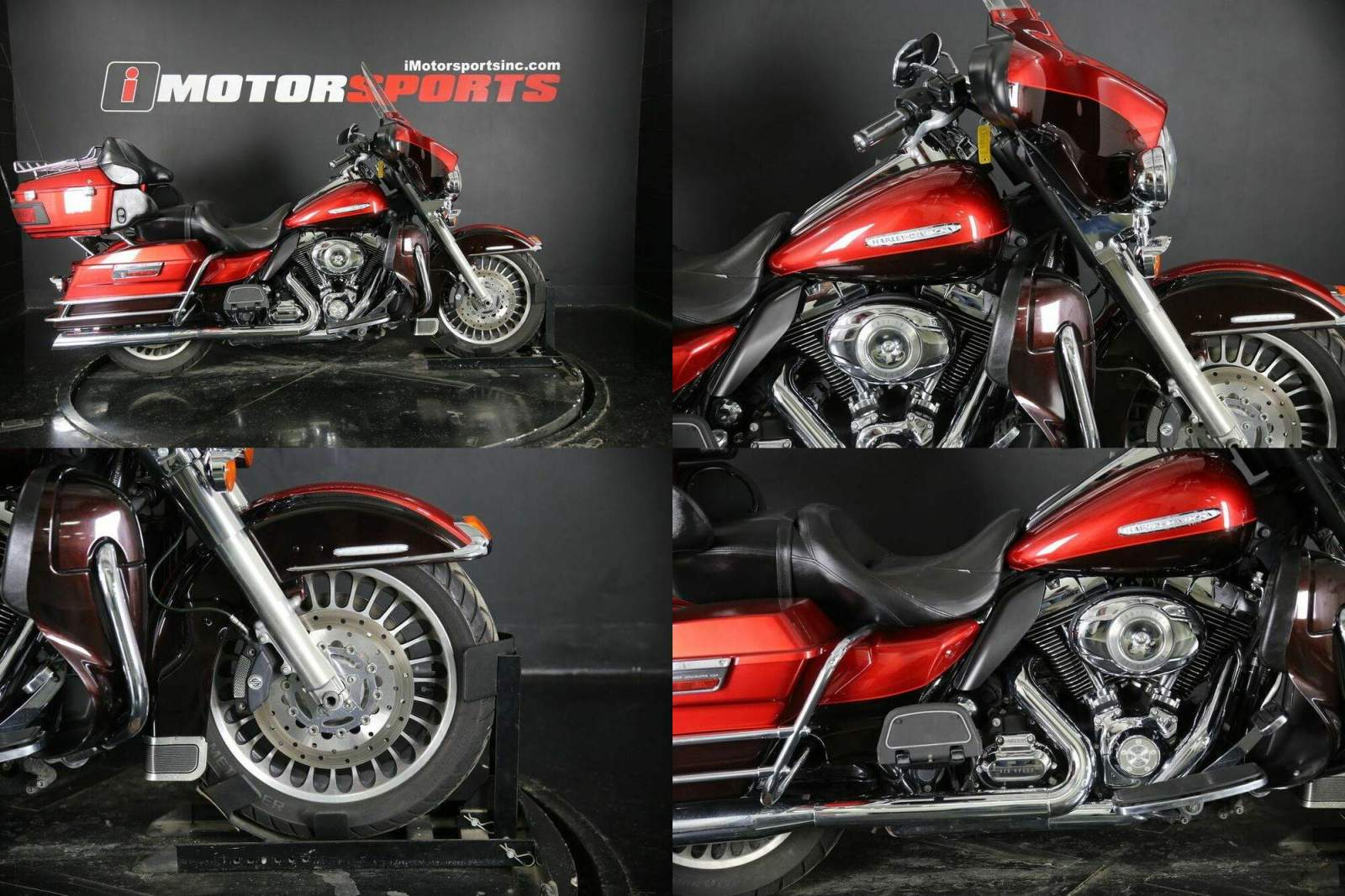 2011 Harley-Davidson FLHTCU - Ultra Classic Electra Glide Red used for sale