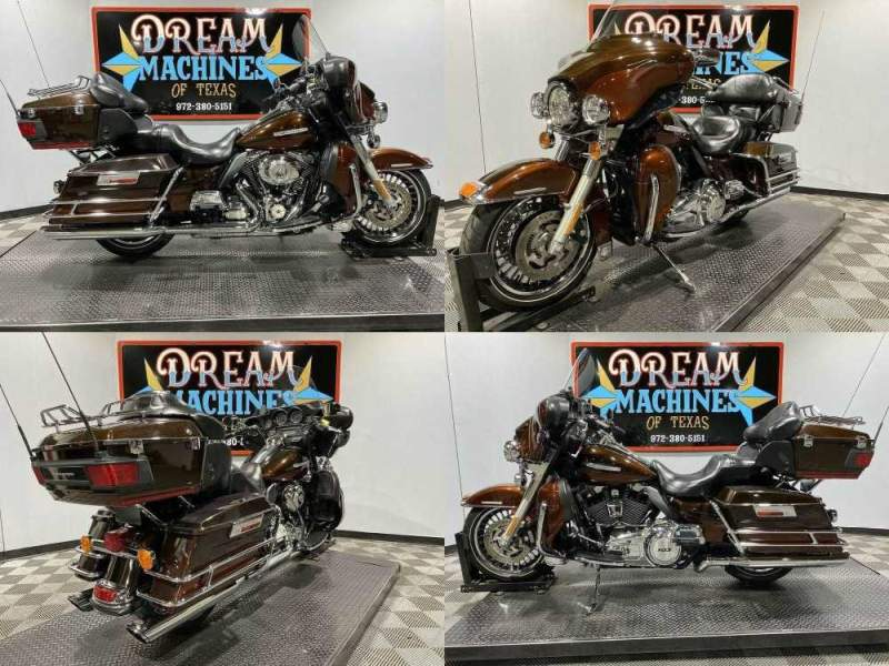 2011 Harley-Davidson FLHTK - Ultra Limited Dark Candy Root Beer And Light Candy Root Beer used for sale craigslist