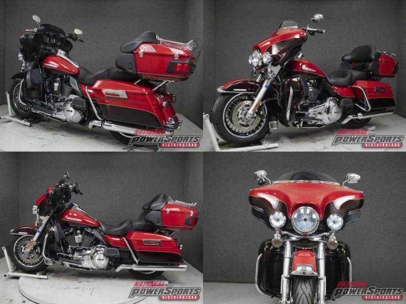 2011 Harley-Davidson Touring FLHTK ELECTRA GLIDE ULTRA LIMITED WABS CHERRY RED SUNGLO/MERLOT SUNGLO used for sale