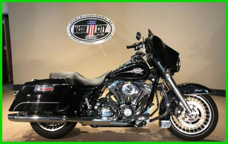 2011 Harley-Davidson Touring Electra Glide® Classic Vivid Black used for sale near me