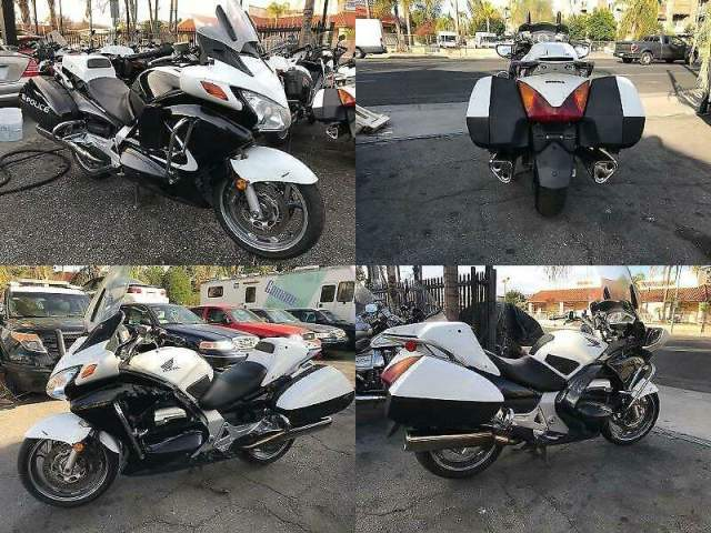 2011 Honda ST1300 POLICE Black N WHITE used for sale craigslist