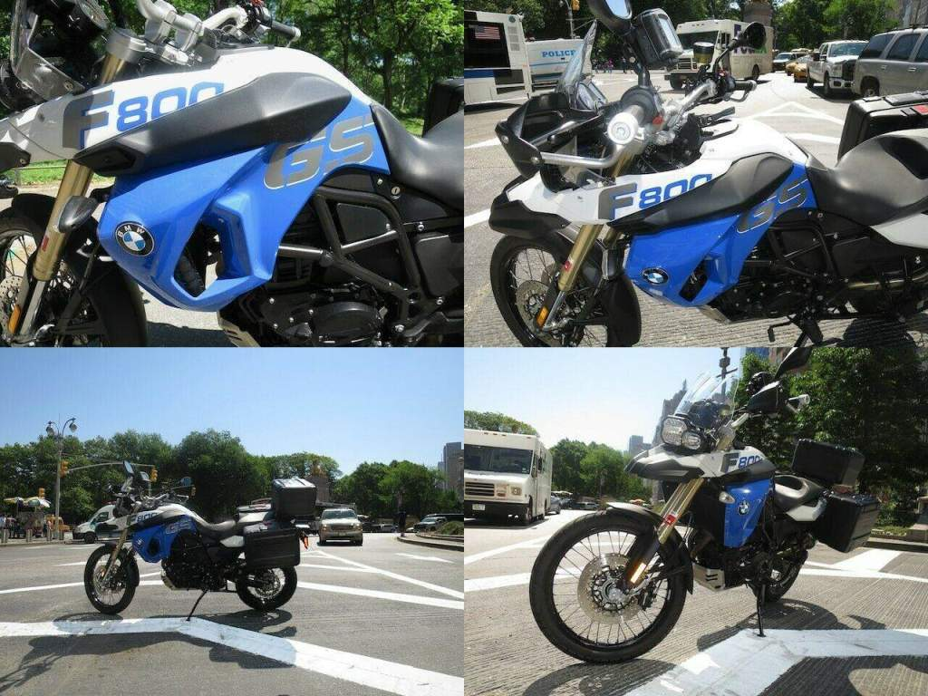 2012 BMW F 800 GS Blue & White used for sale craigslist