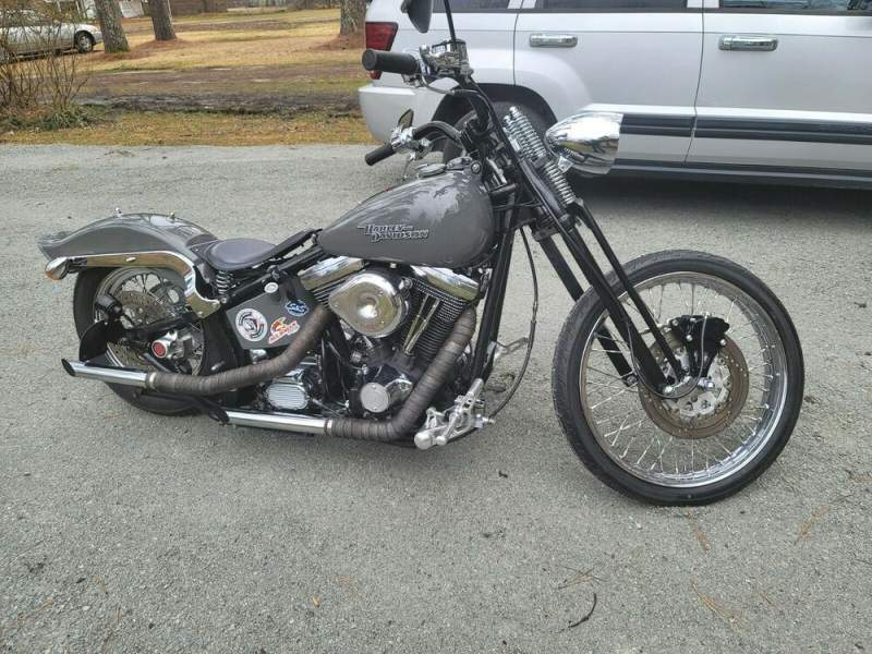2012 Custom Built Motorcycles Chopper Gray used for sale craigslist