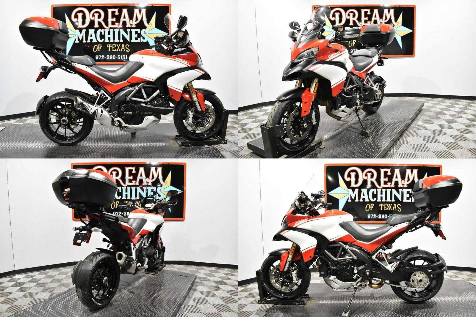 2012 Ducati Multistrada 1200 S Touring Red used for sale