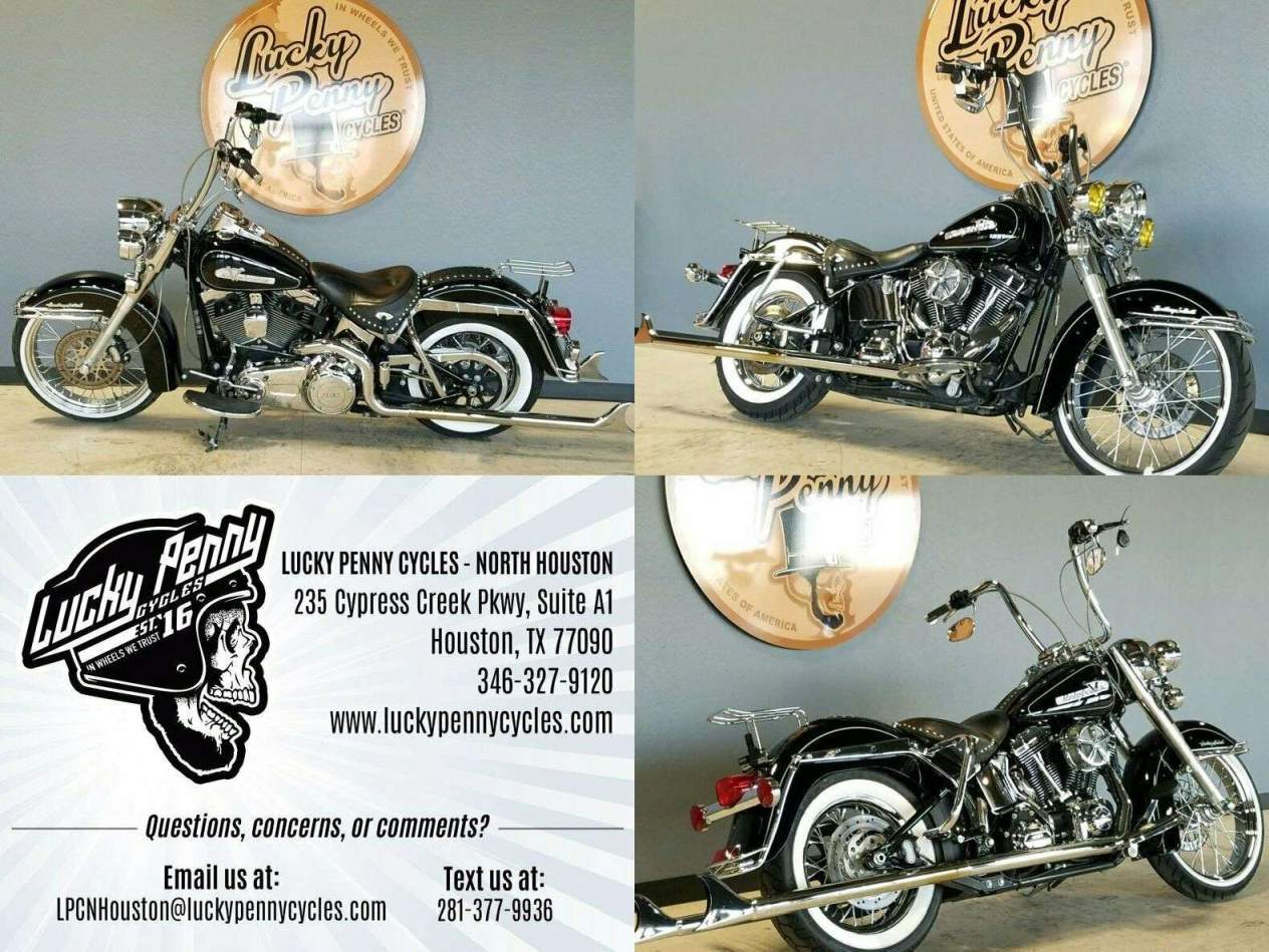 2012 Harley-Davidson Softail Heritage Classic Black used for sale near me