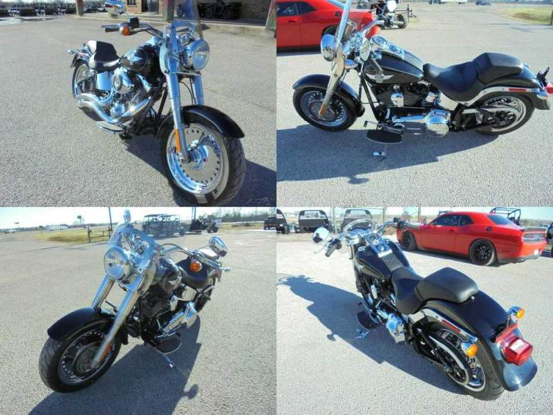 2012 Harley-Davidson Softail Fat Boy Black used for sale craigslist
