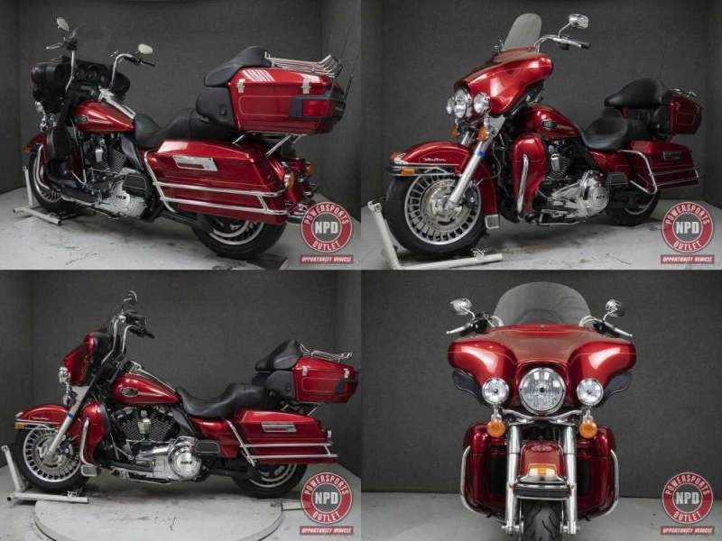 2012 Harley-Davidson Touring EMBER RED SUNGLOW used for sale craigslist
