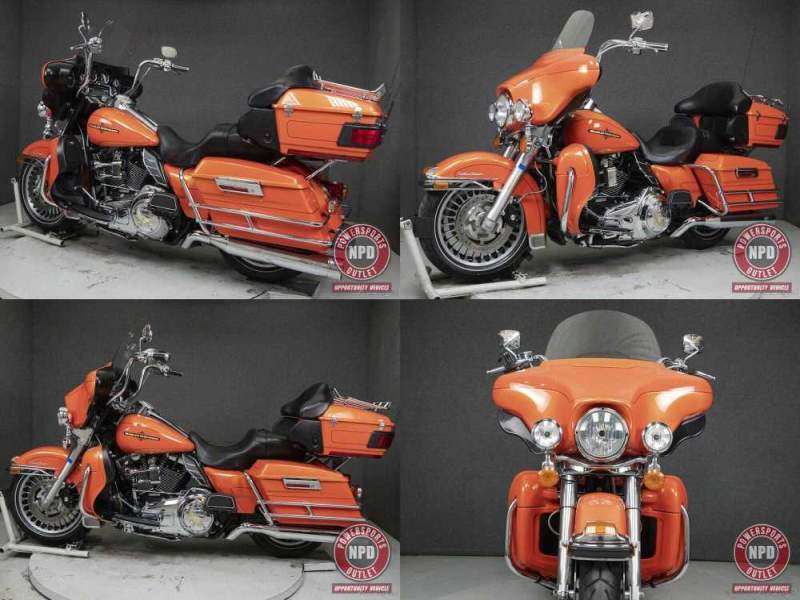 2012 Harley-Davidson Touring TEQUILA SUNRISE used for sale