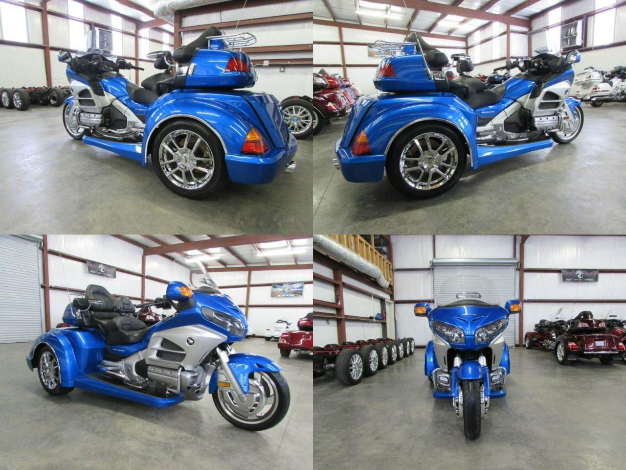 2012 Honda Gold Wing BLUE used for sale near me